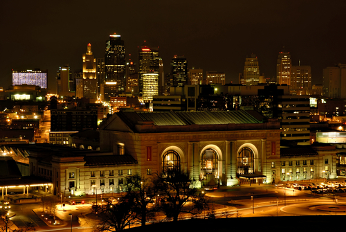 KC at Night