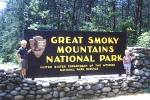 TERRY AND DAVE IN THE SMOKIES