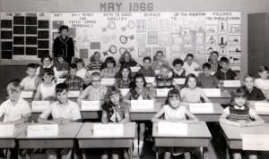 CLASS PHOTO, 1966