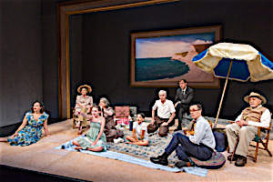 Photo:   A Day By the Sea  By N.C. Hunter Directed By Austin Pendleton; presented by The Mint Theater Cast; Curzon Dobell; Julian Elfer; Katie Firth; Philip Goodwin; Sean Gormley; Polly McKie Kylie McVey; George Morfogen; Athan Sporek; Jill Tanner Dress rehearsal photographed: Thursday, July 21, 2016; 4:30 PM at The Beckett Theatre at Theatre Row 410 West 42nd Street; NYC; Photograph: © 2016 Richard Termine  PHOTO CREDIT - Richard Termine