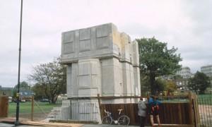 "Rachel Whiteread, ""House"", 1993, Concrete. (Image: Philip Grisewood)"