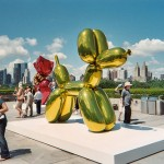 Jeff Koons Balloon Sculpture on MET roof, NYC
