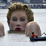 "Oliver Voss's ""The Bather"" in Hamburg, Germany, 2011"