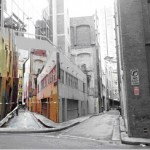 Isdiro Blasco, Photo mural of alley next to alley