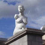 Marc Quinn's   sculpture of Alison Lapper on the 4th Plinth, London, UK, 2005