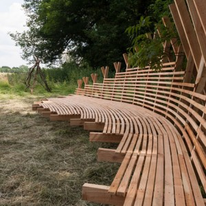 Studio in the Woods, Bench by Studio Weave