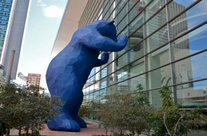 Lawrence Argent, Blue Bear, Denver