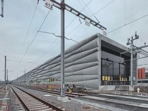 EM2N Cement Railway Service Building