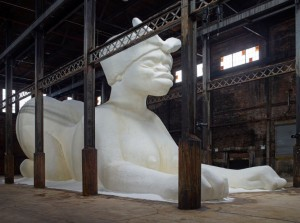 domino sugar factory demolition art sphinx sugar kara walker brooklyn 12