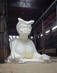 domino sugar factory demolition art sphinx sugar kara walker brooklyn 13