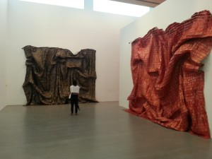 El Anatsui still in Miami Beach