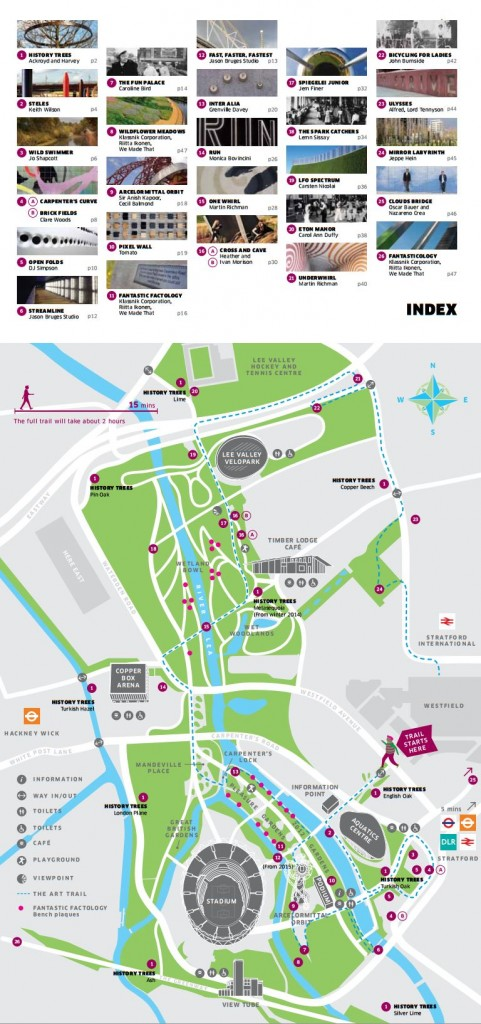 Map Olympic Park