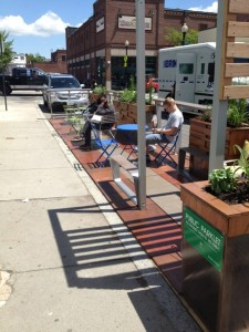 Park (ing) Day made semi-permanent in Boston