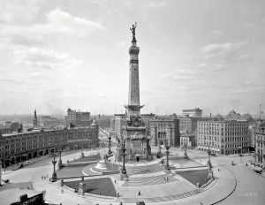 Soldiers' and Sailors' Monument, Photo 1907
