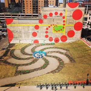 Amanda Lovelee's Urban Flower Field, St. Paul, 2014