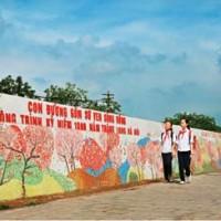 Hanoi Ceramic Mural on Red River Dyke: 2007-2010