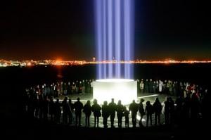 Imagine Peace Tower, Yoko Ono, Iceland, 2007 - Present