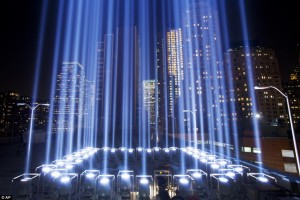Tribute in Light, NYC, 2002-Present
