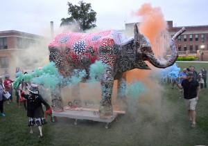 Dennis McNett, Big Mary Elephant Effigy