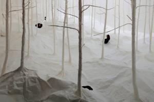 Takashi Kuribayashi, Paper Forest, 2014