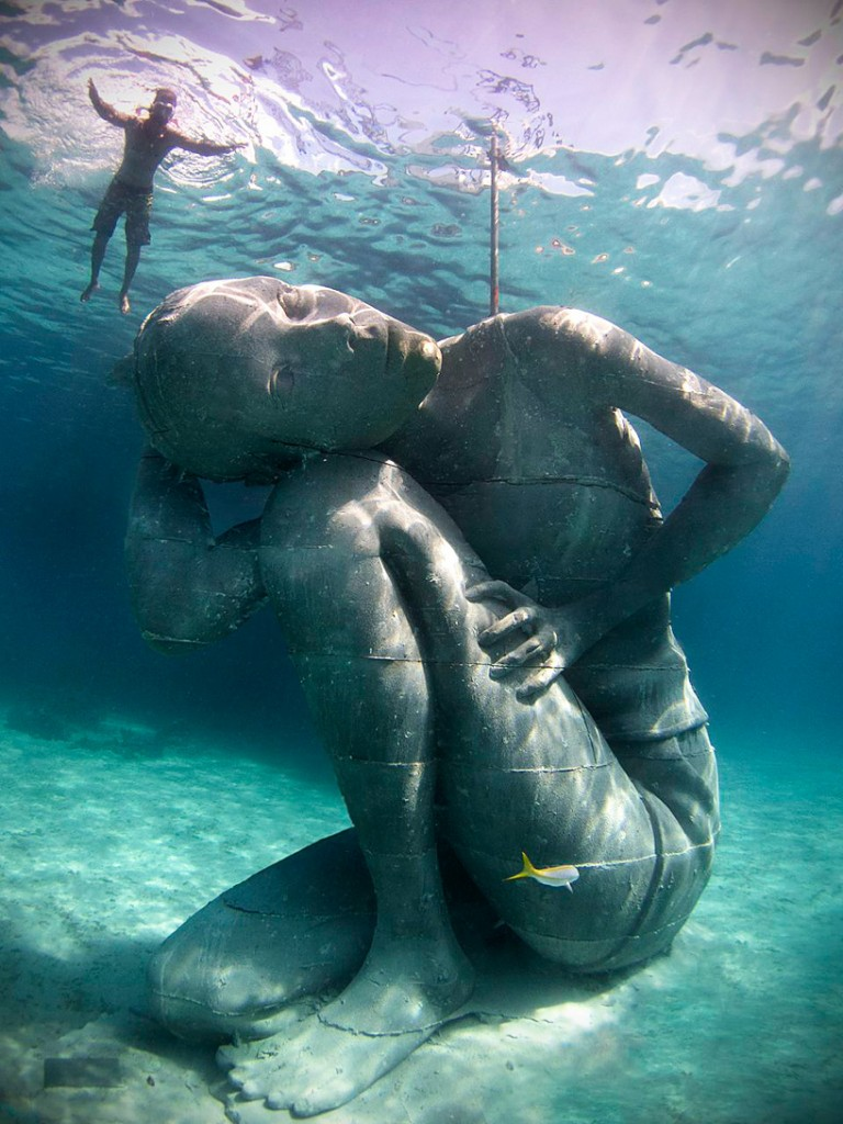 ocean-atlas by jason decaires taylor, the bahamas