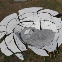 Sinkholes – Real and Illustrated – A sculpture by Heide Fasnacht