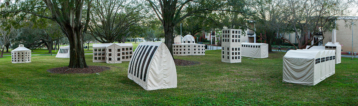 Transportable City by Los Carpinteros at USF Tampa, 2014