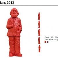 Ottmar Horl, Karl Marx 2013, $500 per sculpture