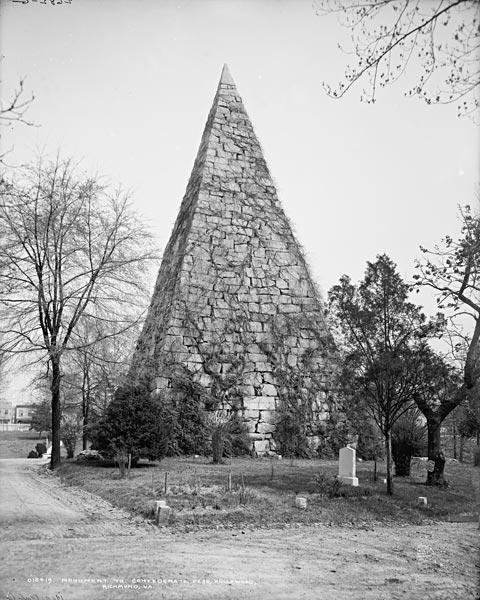 Richmond, Virginia, Memorial to Confederate Dead