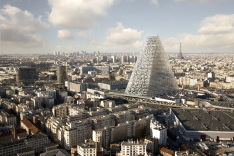 Tour-Triangle-tower-by-Herzog-and-de-Meuron, Approved for Paris