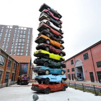 Yikes.  Cars in China are now surplus.  Consumer waste and artists one more time.