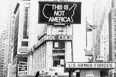 Alfredo Jaar, This is not America, 1980s
