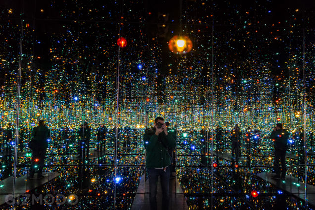 Yayoi Kusama Infinity Mirror Room 2011