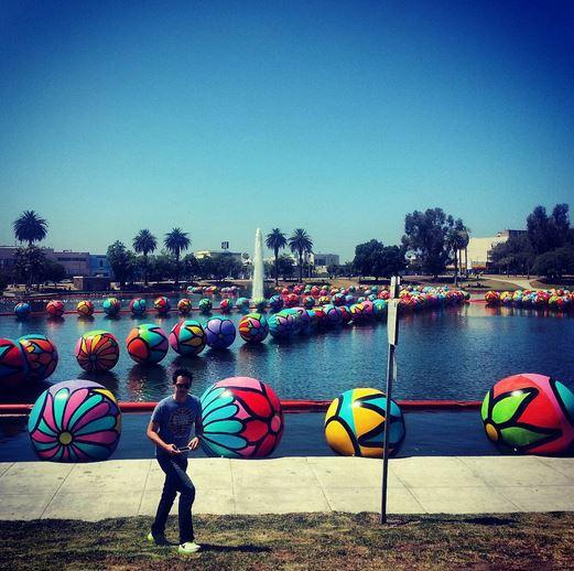 MacArthur Park, Los Angeles, 3000 balls