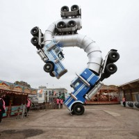 Mike Ross' Big Rig Jig at Dismaland in UK