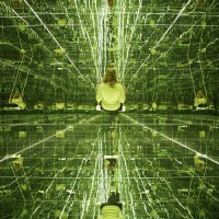 Other Funhouses –  Mirror Rooms by Samaras, Kusama and Frank