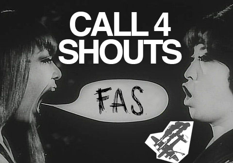 Feel like yelling. Send your shouts before Sept 30 2015 and support the young architects at FAS in Switzerland. https://www.facebook.com/FASzine