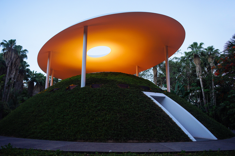 New James Turrell installation added to Botanico Culiacan in Mexico.  http://botanicoculiacan.org/