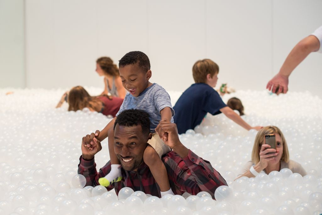BEACH by Snarkitecture used 1,000,000 balls