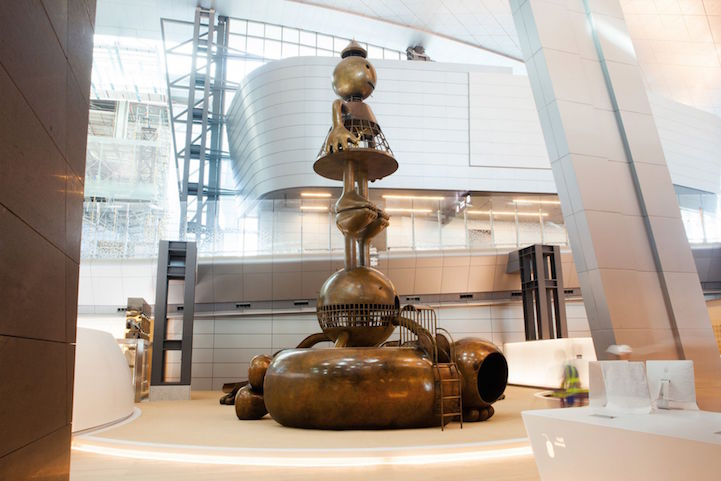 Tom Otterness at Hamad International Airport In collaboration with Qatar Museums 2015