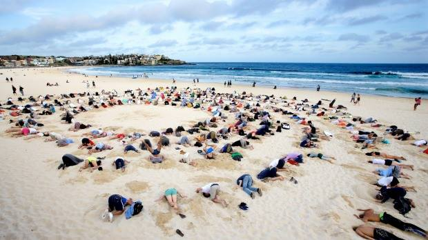 Climate deniers action in Australia