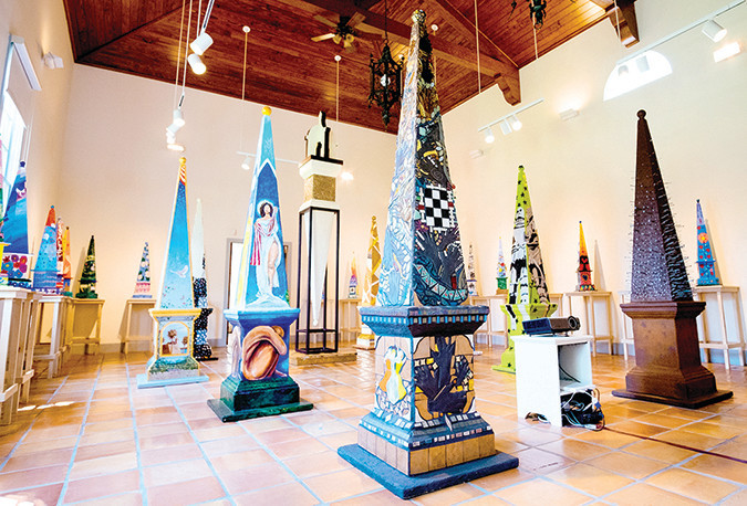 Obelisk Art 450 opens in St. Augustine
