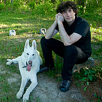 Neil Gaiman, photo by Kyle Cassidy