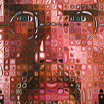 Chuck Close, Self Portrait