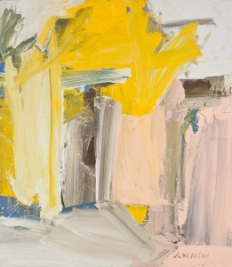 De Kooning, Door to the River, 1960. Whitney Museum
