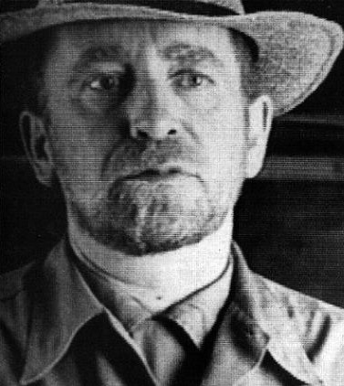 John Perreault as Van Gogh in Les Levine's Analyse Lovers, The Story of Vincent, 1990. Still from video.