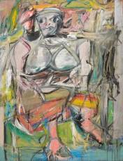 De Kooning, Woman I, 1950-52