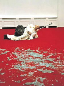 Maurizio Cattelan: The Ninth Hour,