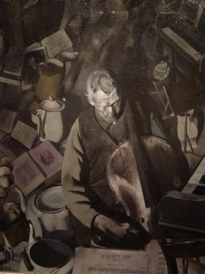 Dickinson, The Cello Player, 1924-26. De Young Musuem.