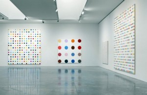Damien Hirst: Installation at Gagosian Chelsea.